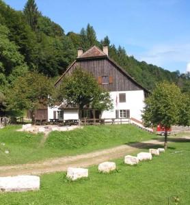 Der Bauernhof der Combe Tabeillon